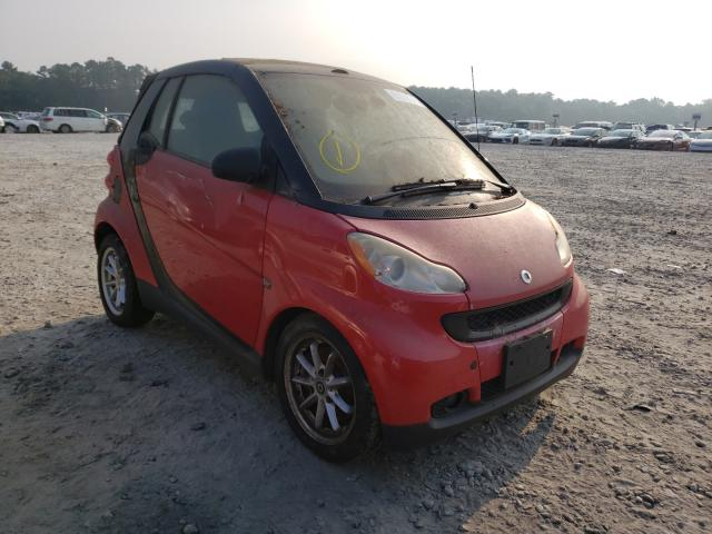 Smart salvage cars for sale: 2009 Smart Fortwo PAS