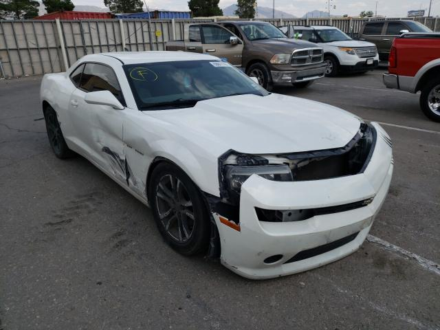 Salvage cars for sale from Copart Anthony, TX: 2014 Chevrolet Camaro LS