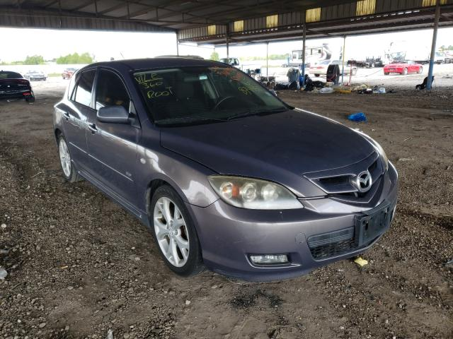 Salvage cars for sale from Copart Houston, TX: 2008 Mazda 3 Hatchbac