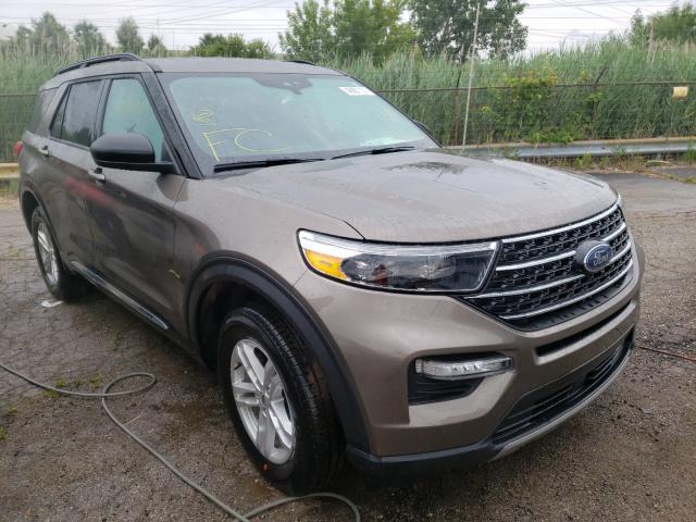 2021 Ford Explorer X en venta en Woodhaven, MI
