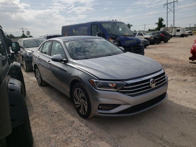 Volkswagen salvage cars for sale: 2021 Volkswagen Jetta SEL