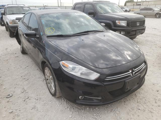 Salvage cars for sale from Copart Haslet, TX: 2013 Dodge Dart Limited