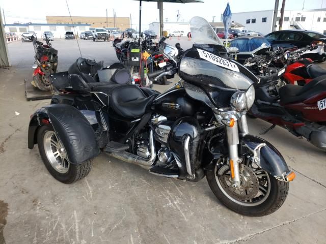 Salvage cars for sale from Copart Grand Prairie, TX: 2018 Harley-Davidson Flhtcutg T