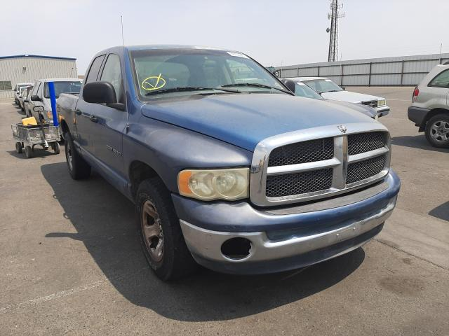 Salvage cars for sale from Copart Fresno, CA: 2003 Dodge RAM 1500 S