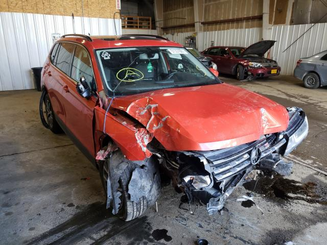 Salvage cars for sale from Copart Anchorage, AK: 2019 Volkswagen Tiguan SE