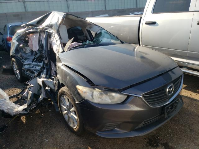 Salvage cars for sale from Copart Albuquerque, NM: 2015 Mazda 6 Sport
