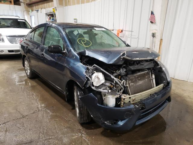 Salvage cars for sale from Copart Anchorage, AK: 2015 Nissan Versa S