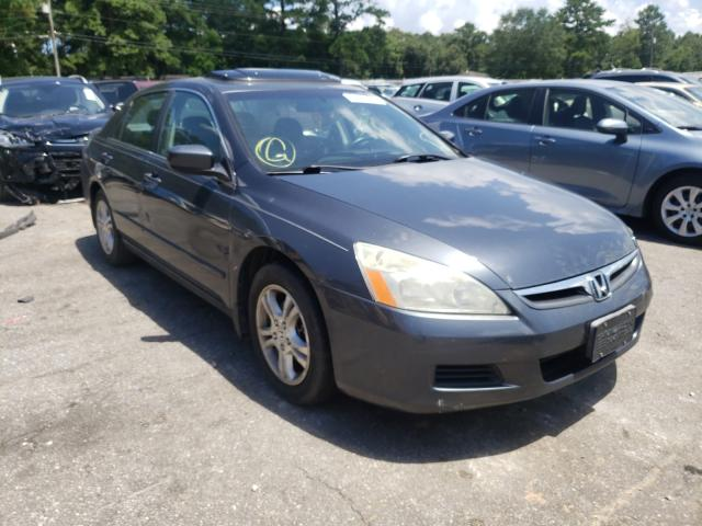 Salvage cars for sale at Eight Mile, AL auction: 2007 Honda Accord EX