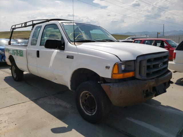 Salvage trucks for sale at Littleton, CO auction: 1999 Ford F250 Super