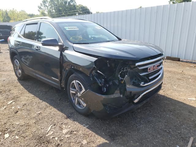 Salvage cars for sale from Copart Columbia Station, OH: 2021 GMC Terrain SL