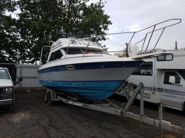 Salvage cars for sale from Copart Anchorage, AK: 1989 Bayliner Boat