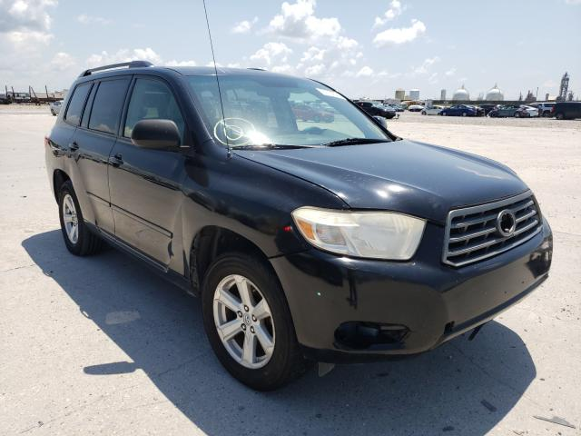 Salvage cars for sale from Copart New Orleans, LA: 2008 Toyota Highlander