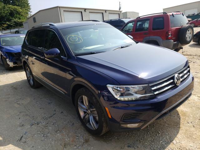 Volkswagen salvage cars for sale: 2021 Volkswagen Tiguan SE