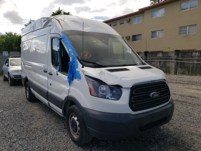 Salvage cars for sale from Copart Opa Locka, FL: 2018 Ford Transit T