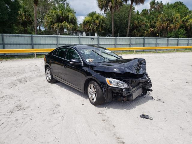Salvage cars for sale from Copart Fort Pierce, FL: 2015 Volvo S60 Premium