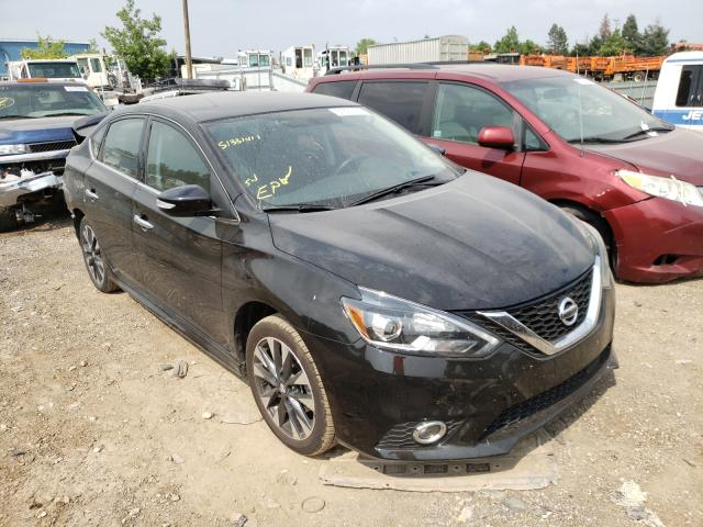 Salvage cars for sale from Copart Des Moines, IA: 2019 Nissan Sentra SR