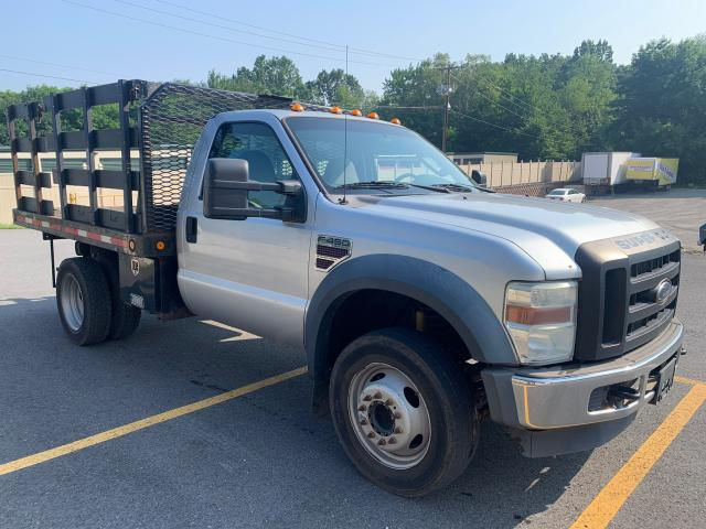 Salvage trucks for sale at Billerica, MA auction: 2008 Ford F450 Super