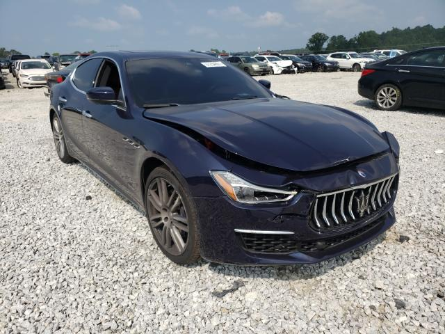 Salvage cars for sale from Copart Loganville, GA: 2018 Maserati Ghibli LUX