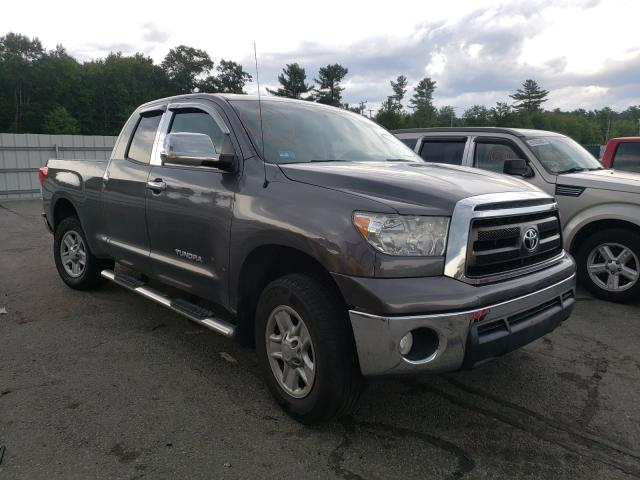 Salvage cars for sale from Copart Exeter, RI: 2012 Toyota Tundra DOU