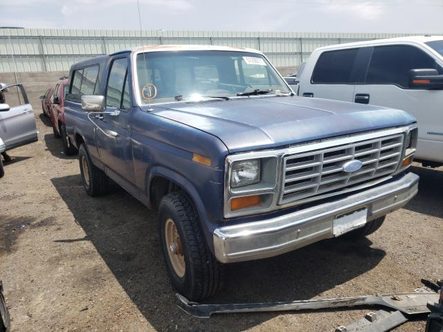 Salvage cars for sale from Copart Albuquerque, NM: 1986 Ford F150