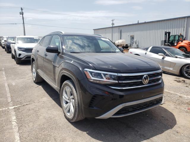 Volkswagen salvage cars for sale: 2021 Volkswagen Atlas Cros