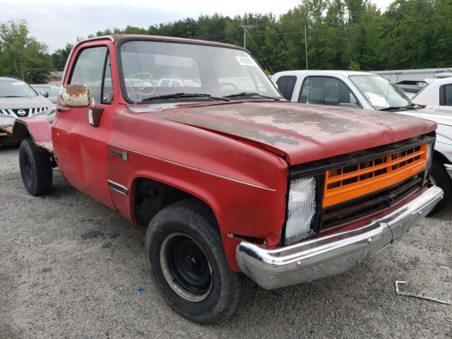 Vehiculos salvage en venta de Copart Fredericksburg, VA: 1987 GMC R15 Conven