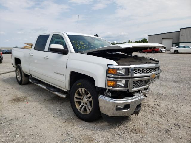 Salvage cars for sale from Copart Leroy, NY: 2015 Chevrolet Silverado