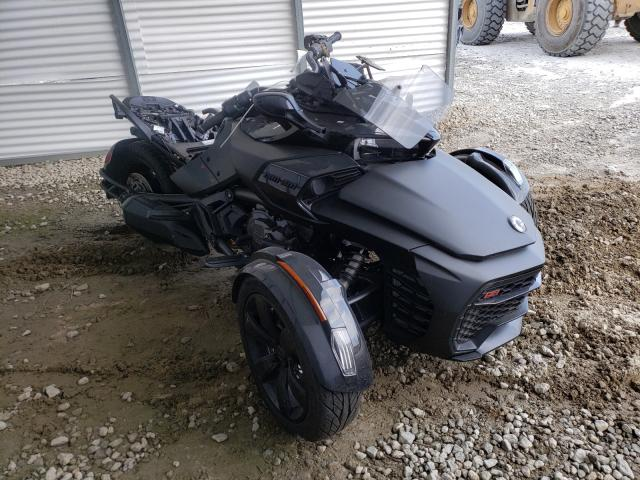 Salvage cars for sale from Copart Ellenwood, GA: 2021 Can-Am Spyder ROA