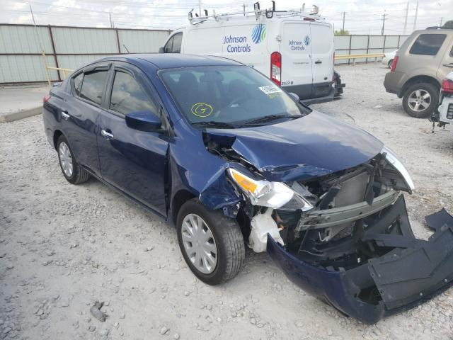 Salvage cars for sale from Copart Haslet, TX: 2019 Nissan Versa S