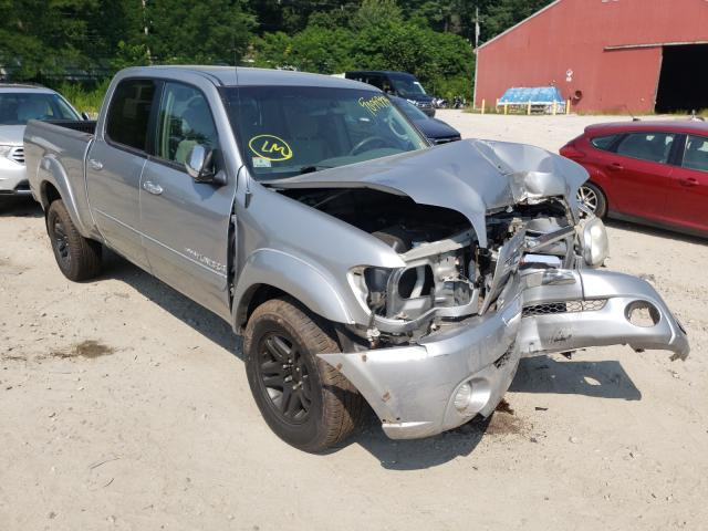 Salvage cars for sale from Copart Mendon, MA: 2006 Toyota Tundra DOU