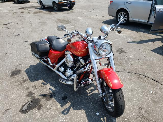Salvage cars for sale from Copart Dunn, NC: 2007 Harley-Davidson FLHRSE3