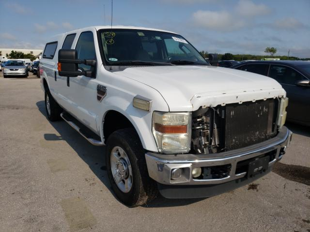Salvage cars for sale from Copart Orlando, FL: 2010 Ford F250 Super