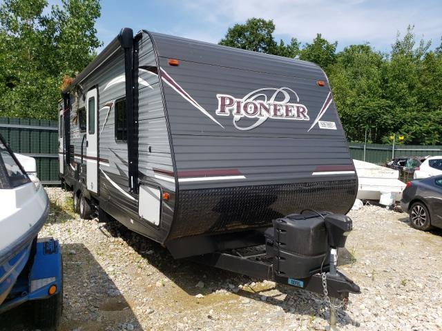 Heartland Pioneer salvage cars for sale: 2018 Heartland Pioneer