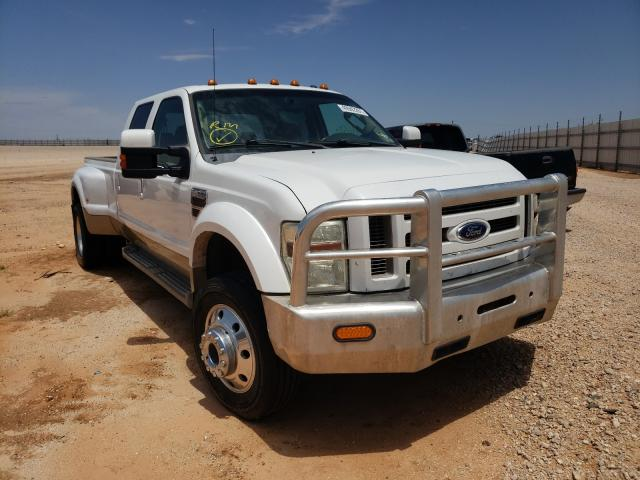 Salvage cars for sale from Copart Andrews, TX: 2010 Ford F450 Super