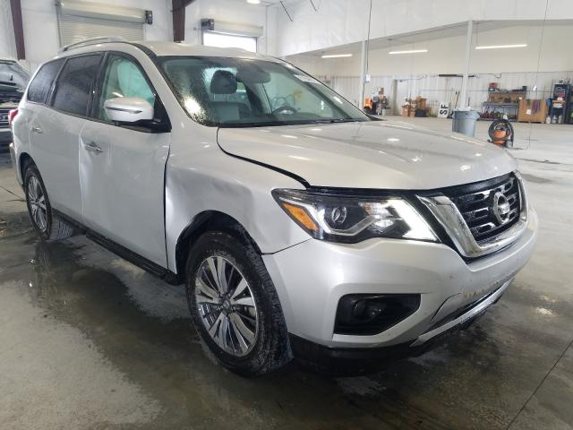 Salvage cars for sale from Copart Avon, MN: 2020 Nissan Pathfinder