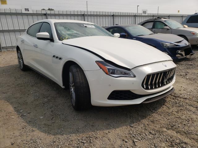Maserati salvage cars for sale: 2018 Maserati Quattropor