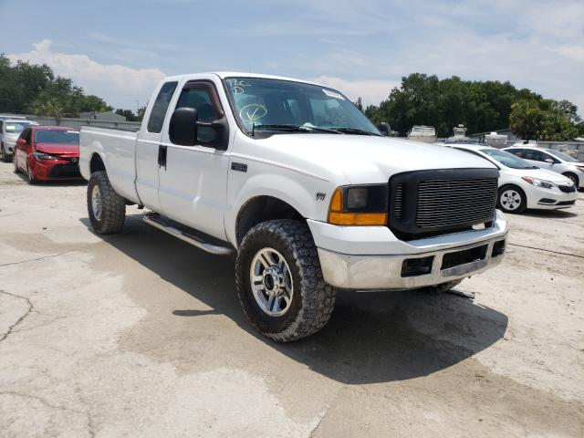 Salvage cars for sale from Copart Punta Gorda, FL: 1999 Ford F250 Super