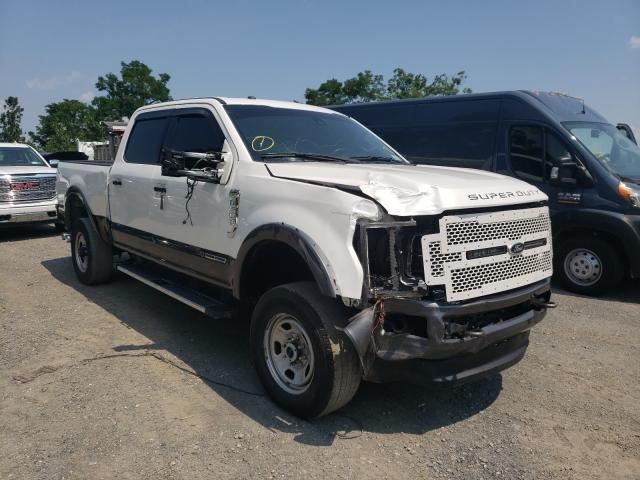 Salvage cars for sale from Copart Marlboro, NY: 2017 Ford F350 Super