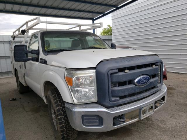 Salvage cars for sale from Copart Martinez, CA: 2013 Ford F250 Super