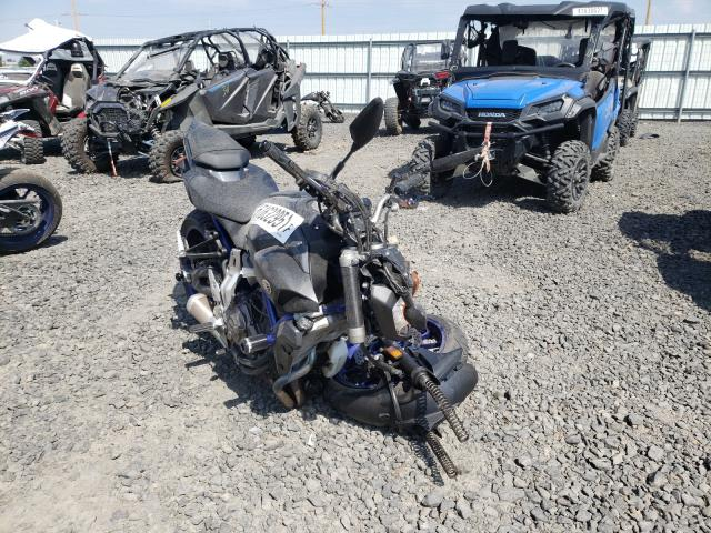 Salvage motorcycles for sale at Airway Heights, WA auction: 2015 Yamaha FZ07