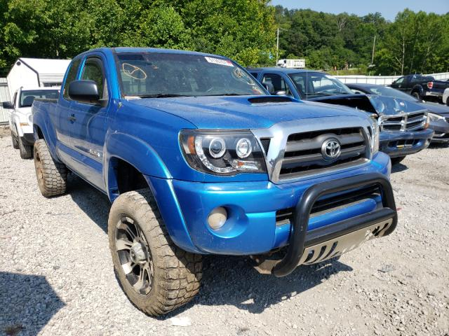 Salvage cars for sale from Copart Hurricane, WV: 2009 Toyota Tacoma ACC