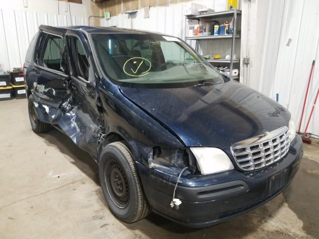 Salvage cars for sale from Copart Anchorage, AK: 2000 Chevrolet Venture