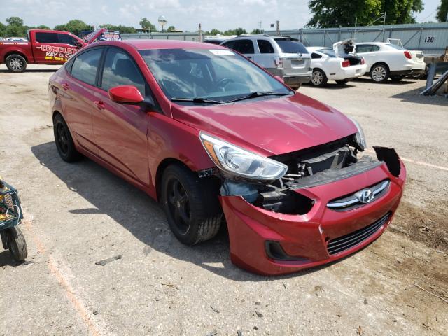 Vehiculos salvage en venta de Copart Wichita, KS: 2015 Hyundai Accent GLS