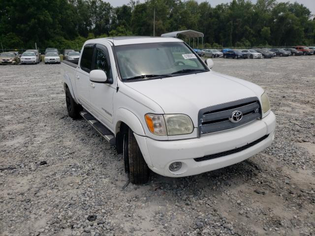 Salvage cars for sale from Copart Tifton, GA: 2005 Toyota Tundra DOU