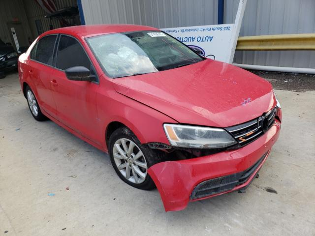 Salvage cars for sale at Florence, MS auction: 2015 Volkswagen Jetta SE