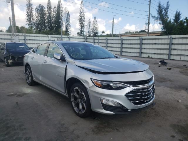 Vehiculos salvage en venta de Copart Miami, FL: 2021 Chevrolet Malibu LT