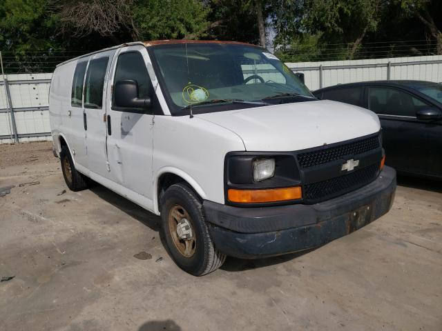 Salvage cars for sale from Copart Corpus Christi, TX: 2007 Chevrolet Express G1