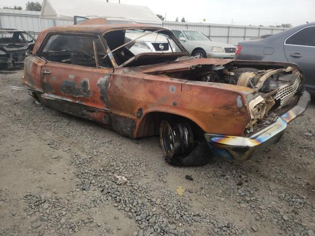 Chevrolet UK salvage cars for sale: 1963 Chevrolet UK