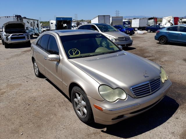 Salvage cars for sale at Tucson, AZ auction: 2004 Mercedes-Benz C 240