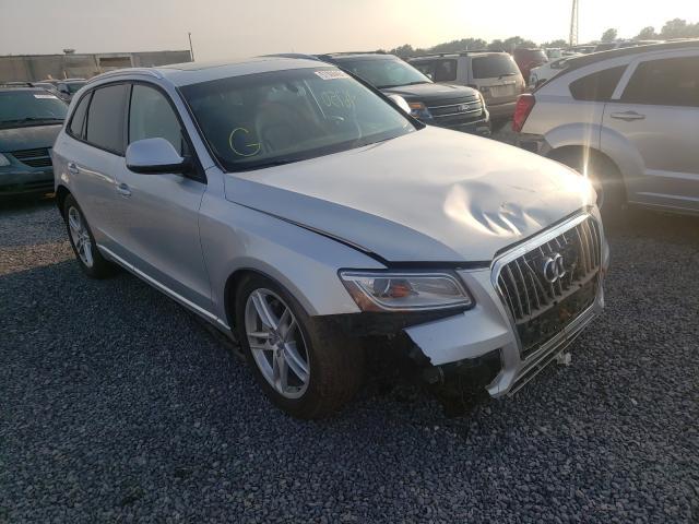 Salvage cars for sale from Copart Fredericksburg, VA: 2014 Audi Q5 TDI Premium